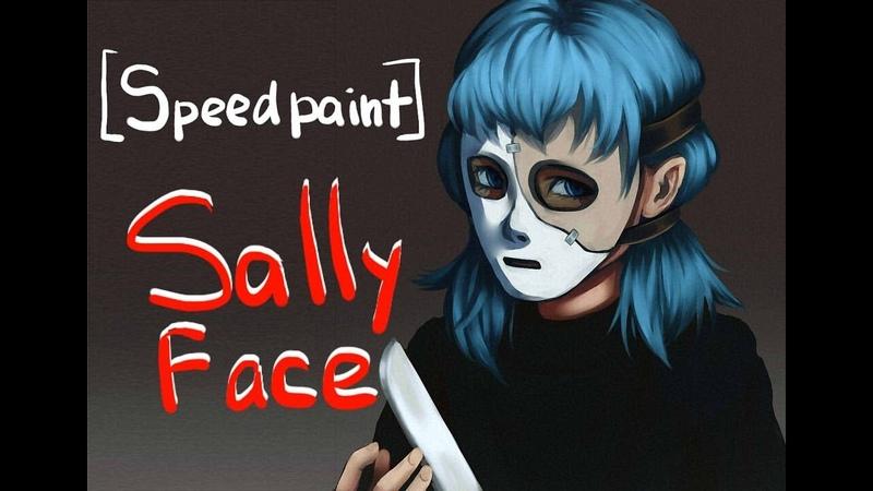 Speedpaint Sally Face