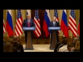 Trump, Putin hold joint press conference_144p
