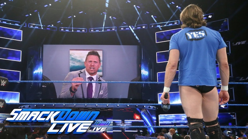 The Miz uses a slew of babies to mock Daniel Bryan SmackDown LIVE July 31 2018