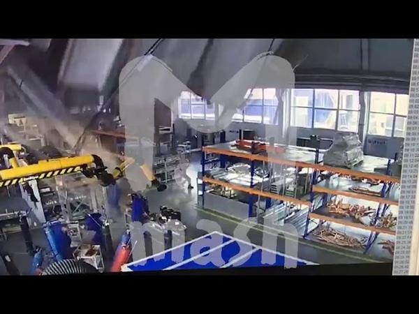 """В Дзержинском обрушилась крыша на заводе """"Техногрупп"""""""