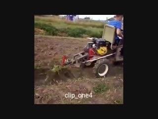 Трактор на дачу из мотоблока -