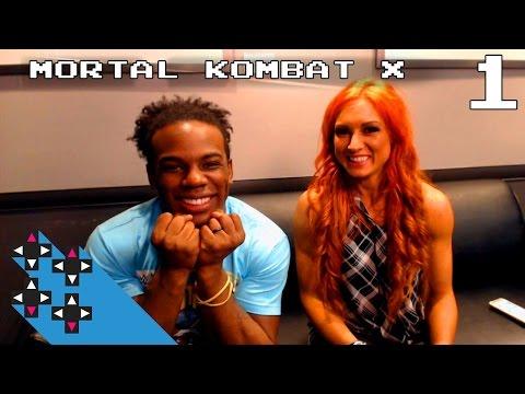 Becky Lynch Mortal Kombat X Part 1: Becky's pretty punny — Superstar Savepoint