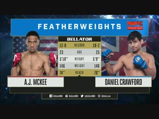 Aj Mckee vs. Daniel Crawford