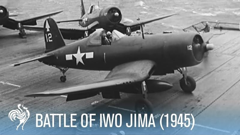 Fierce Fighting Footage from the Battle of Iwo Jima (1945)   War Archives
