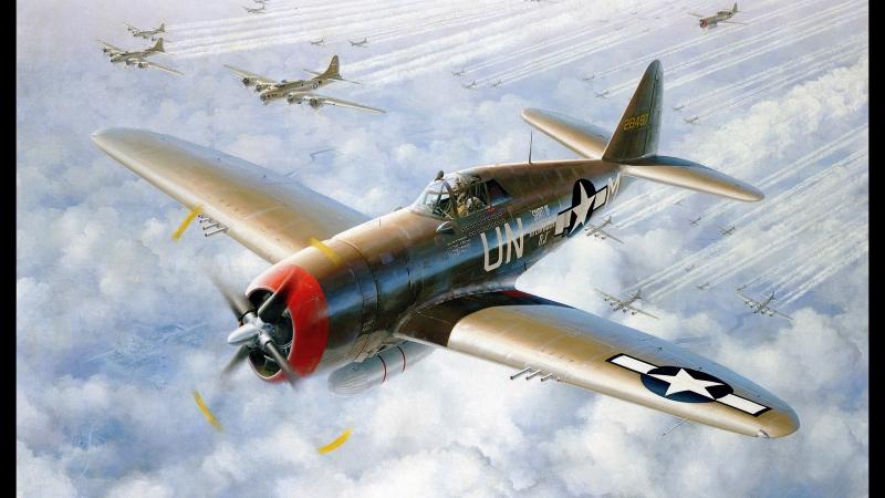 Знаменитые самолеты_16 P-47
