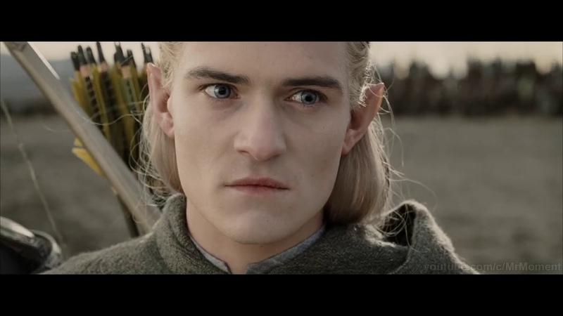 Глашатай Саурона встречает армию Запада Властелин колец Возвращение короля