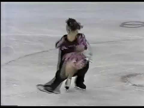 Олимпийские игры 1988 Фигурное катание, пары, Lenka Knapova Rene Novotny короткая программа