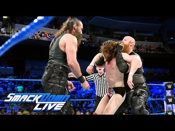 Daniel Bryan vs. The Miz - Gauntlet Match Part 3 SmackDown LIVE, June 19, 2018