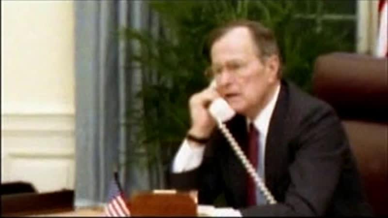 Главнокомандующий Джордж Герберт Уокер Буш