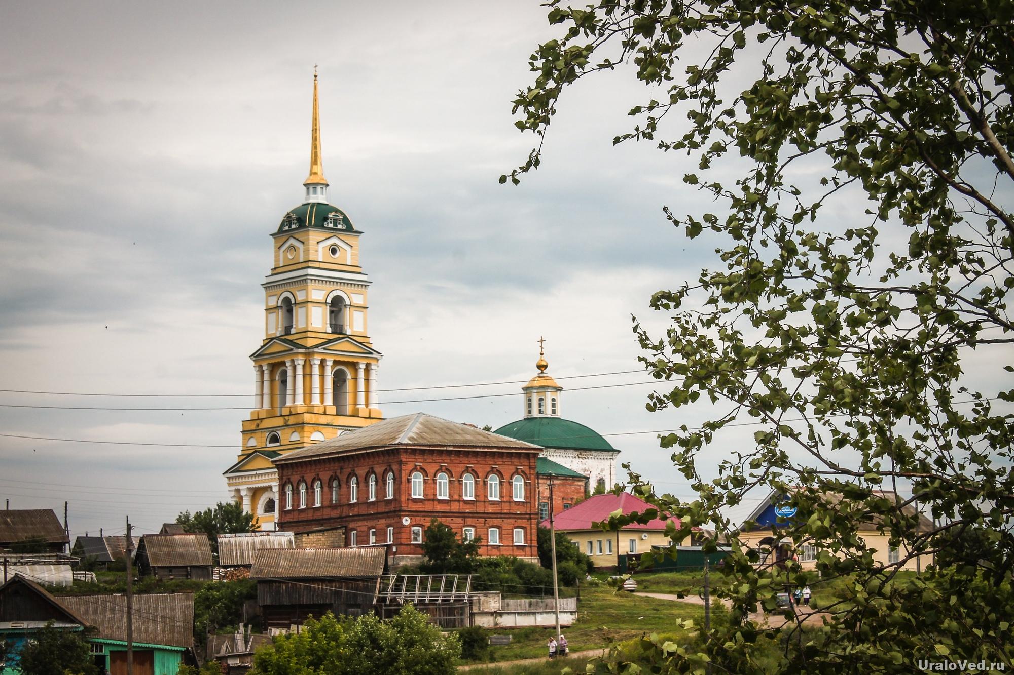 Церковь в селе Ленск