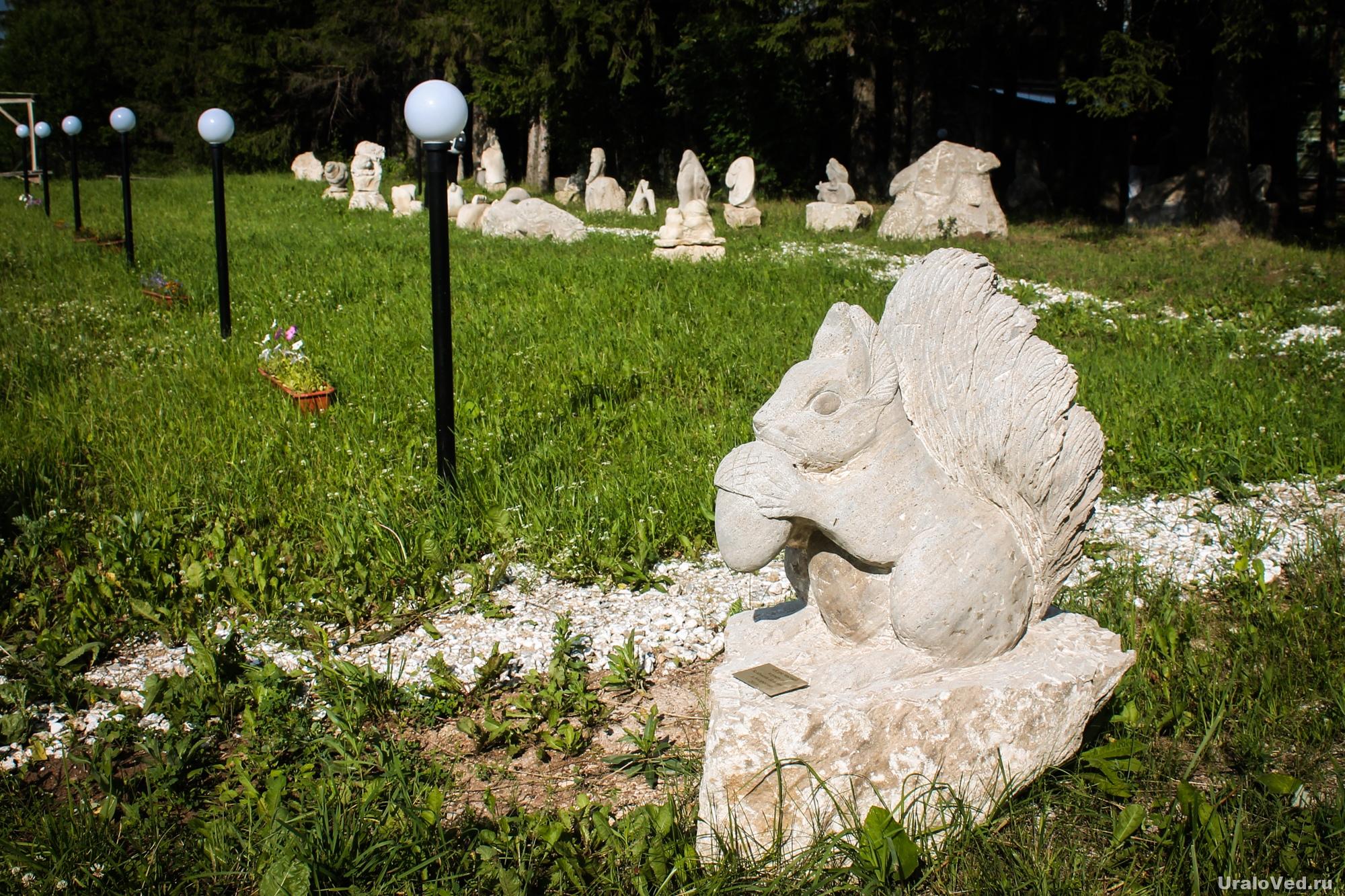 Парк камней в селе Красный Ясыл