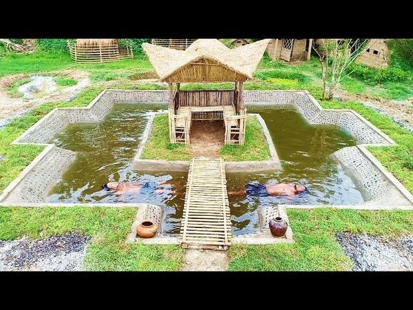 Build Underground Swimming Pool around The Hut