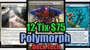 Budget Modern Blue White Polymorph Deck Tech