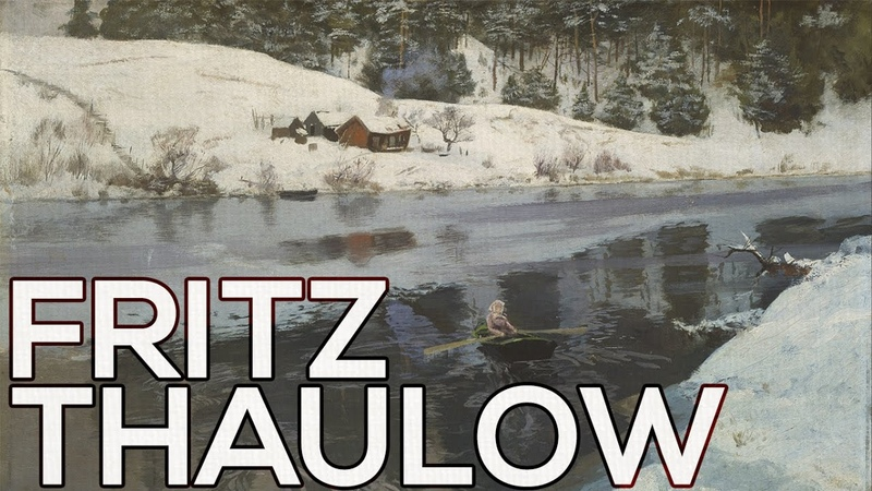 Fritz Thaulow: A collection of 157 paintings (HD)