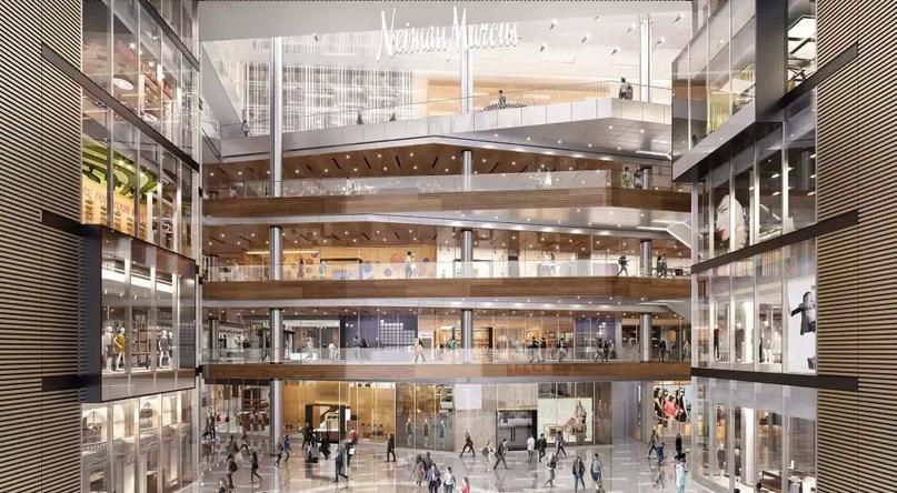 Огромный Новый магазин , МегаМолл , Нью-Йорк
