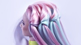 Hairstyle Waterfall - Crest of the wave Hairstyles by REM Copyright