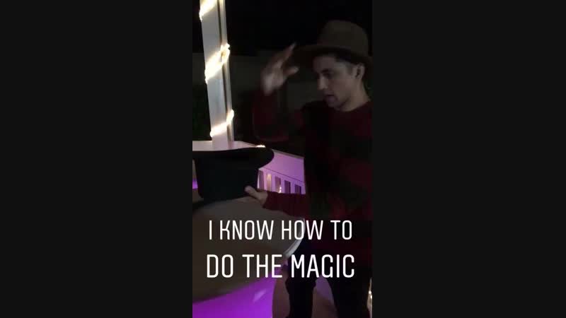 I KNOW HOW TO DO THE MAGIC