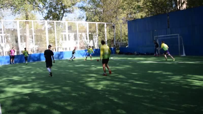 Футбольная лига Пресни(осень 2018). Штурм 6-0 Рабочий поселок(2-ой тайм)