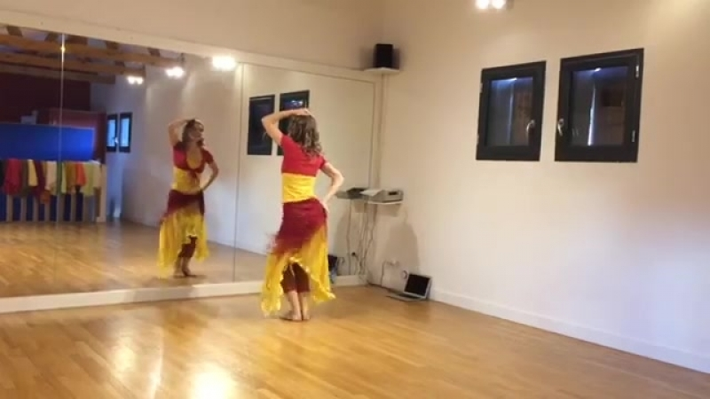 Stage salsa orientale à Valence avec Aline 23199