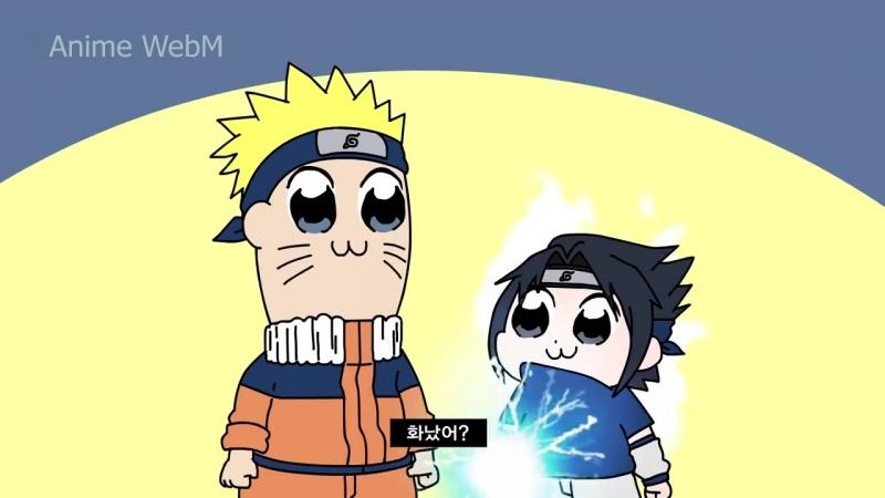 Anime.webm Poputepipikku, Naruto