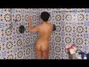 Angelina Jolie shower masturbation