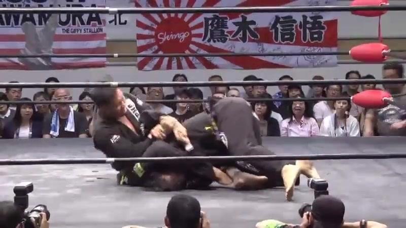 Hikaru Sato vs. Takatoshi Matsumoto (KAI Produce - First Yokohama Childrens Hospice Charity Pro-Wrestling)