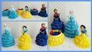 Porta Ligas o Coleteros de Princesas Decoraciones con Botes de Soda