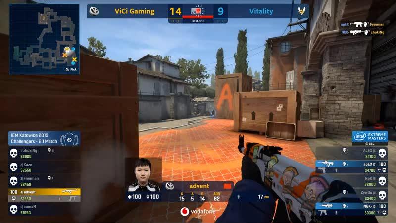 Vitality. Inferno. NBK 2k vs ViCi IEM Major Challenger Day3