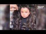 Девочка с красивыми волосами