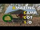 Bushcraft Raised Bed Shelter - Amazing Camp Cot