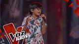 Ahsly Mario canta La Consentida Audiciones a Ciegas La Voz Kids Colombia 2019