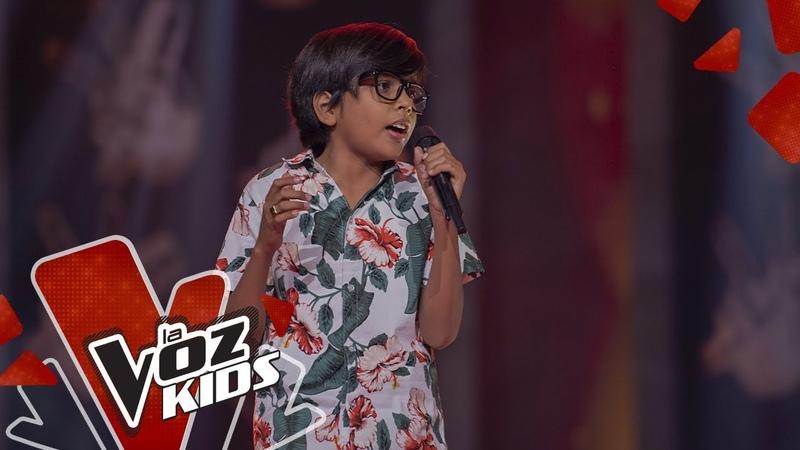 Ahsly Mario canta La Consentida – Audiciones a Ciegas | La Voz Kids Colombia 2019