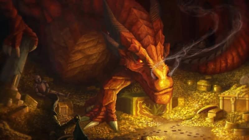 Дракон Фафнир из скандинавской мифологии