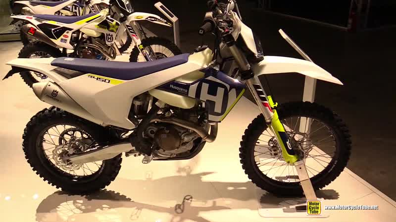 2018 Husqvarna FE 450 - Walkaround - 2017 EICMA Milan Motorcycle Exhibition
