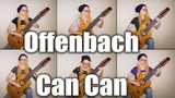 Can Can (Offenbach-Koshkin) on 10 string guitar