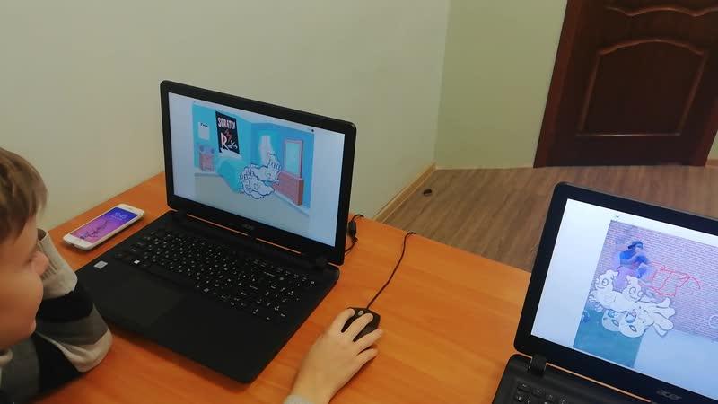 CODOLOGIA Серпухов 2 зантие Создание игры в Scratch
