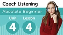 Czech Listening Practice - Talking About a Party in Czech