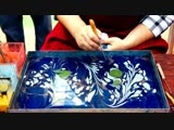 How to paint on Water for Paper Marbling and Ebru Art