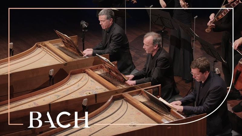 Bach - Concerto for three harpsichords in D minor BWV 1063 - Mortensen | Netherlands Bach Society
