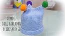 O kadar kolay ki bayılacaksınız / Örgü Bebek şapkası / en kolay örgü modelleri / Figen Ararat