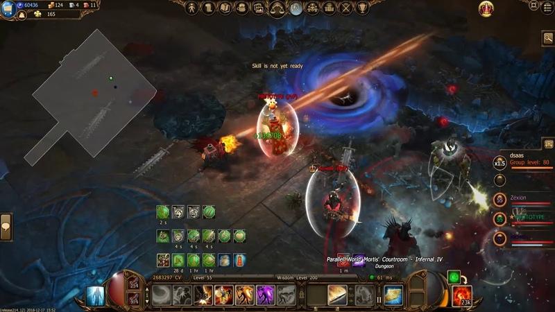 Drakensang online: All infernal4 bosses in 5/30sec