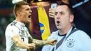 Germany Fans Crazy Reactions Celebration to Kroos 905 Goal (Germany vs Sweden 2-1)