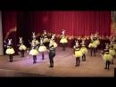 Ансамбль мажореток Истра, кадетки, танец Пчелки