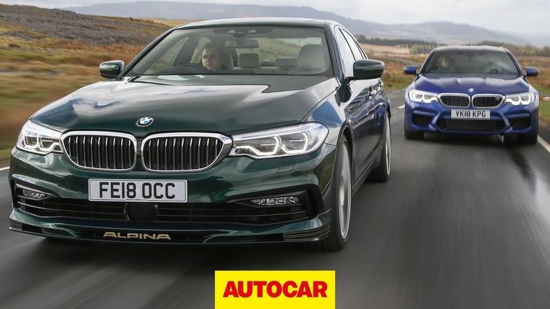 2018 BMW M5 vs Alpina B5 5 Series super saloon showdown Autocar