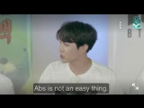 BehindTheAnswer - - Hoseok really apologized for not showing his abs but in my opinion seeing him smile today was 100 times bett