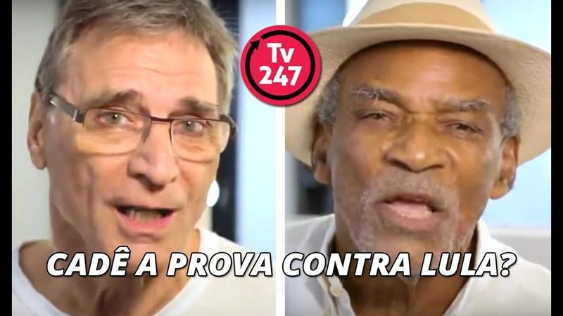 Atores da Globo e artistas questionam em vídeo: Cadê a prova contra Lula?