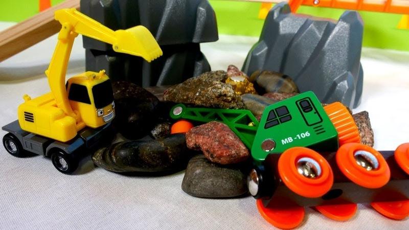 Brio Spielzeug - Ein aufregender Tag im Steinbruch - Spielzeugzüge
