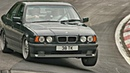 Best of BMW E34 - BURNOUT, DRIFT, REVS!