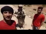 Боевики на северо востоке провинции Даръа, решили сделать селфи