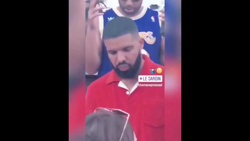 Drake Reps Up Summer Sessions no Le Jardin